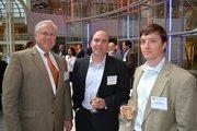 From Donatelli Development, Steve Harrison, left, Larry Clark and Ryan Mason.