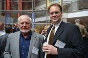 Left, Jimmy Timmerman of Bonitt Builders and Paul Beckman of Beckman Associates.