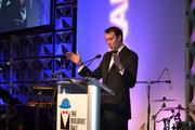 Scott Thuman of WJLA-TV hosted the charity ball.