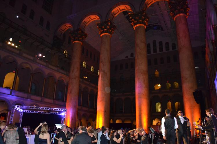 The 2011 Builders' Ball was held at the National Building Museum in Washington Nov. 19.