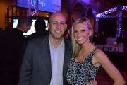 Nathan Pascal of Scientific Expert Analysis Ltd., left, and TidalTV Account Manager Brianna Meszaros.