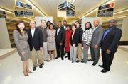 In celebration of Maryland Economic Development Week, the Prince George's County Economic Development Corp., in conjunction with County Executive Rushern Baker, hosted a Media Bus Tour Oct. 26 to visit development sites in Prince George's County.