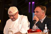 Jeff Black, left, and Jose Andres.