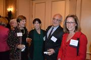 From left, Marian Osterweis, Nancy Kfoury, Jorge Kfoury and Nancy Fax, principal and managing partner at Pasternak & Fidis in Bethesda.