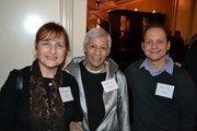 From left, Lori Kaplan, Charito Kruvant and Adam Tenner.