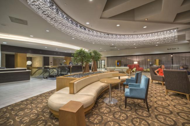 The DoubleTree hotel in Crystal City has been updated.