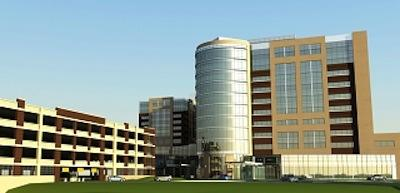 The 665,000-square-foot Inova Women's Hospital & Children's Hospital is being built by Clark Construction.
