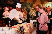 Guests checked out the different food stations.