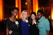 From left, Lesley Jones, Kristin Zeitler, Rebecca Zweig and Ama Blankson-Wood, all of BRAVO! Events.