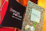 Comcast Spotlight was one of the event's title sponsors.