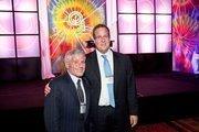 Alan Meltzer of The Meltzer Group, left, and Stuart Kurlander of Latham & Watkins and president of the Jewish Federation of Greater Washington.