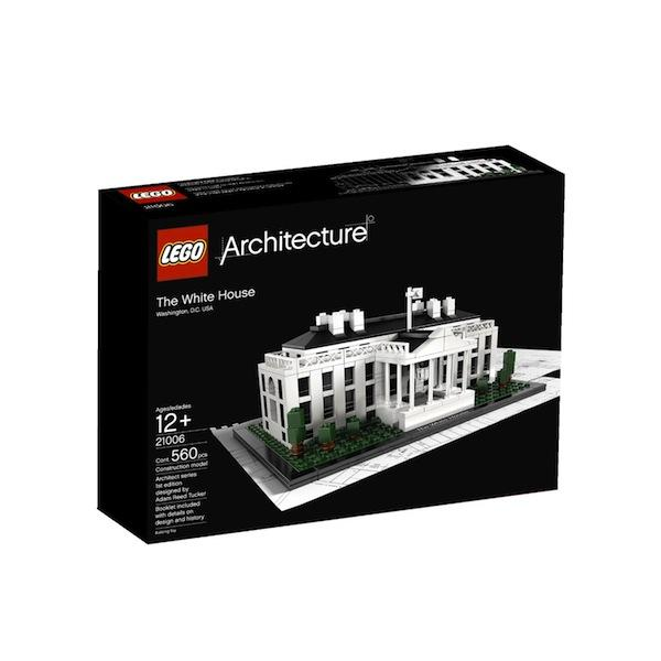 Haven't been to the White House yet? Do the next best thing and build a $50 National Building Museum reproduction of the country's most iconic residence out of Legos. Just don't lose any of the 560 pieces.