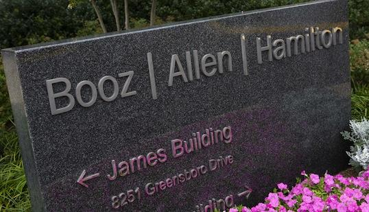 Booz Allen Hamilton may refinance $959  million in outstanding debt with new senior secured credit facilities of  up to $1.75 billion. If it does, it may use the balance, plus cash on  hand, to fund a $1 billion special shareholder dividend.