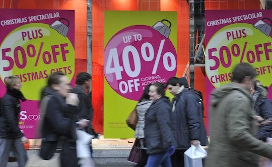 More Americans said they shopped on Thanksgiving than on Black Friday.