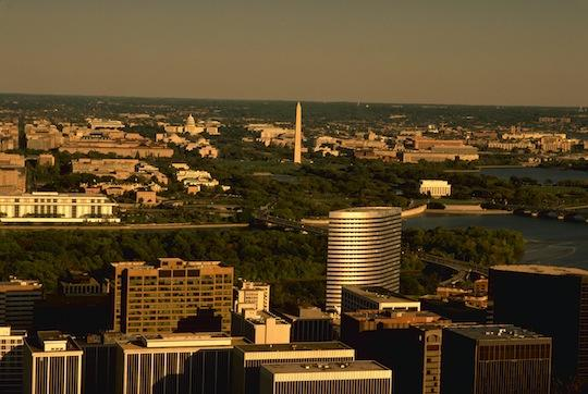The District issued a request for proposals Wednesday seeking contractors to help study how taller buildings would impact D.C.