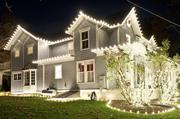 Manor Works recently became a holiday lighting franchise, and owner Mark Osborne says homeowners might spend anywhere from $500 to $5,000 on their lighting displays.