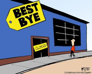 Best Buy, Sears, J.C. Penney to top retail store closings in 2013 - Baltimore Business Journal