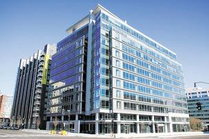 100 M St. SE, which is 66 percent leased, was built by Opus East LLC before it filed for bankruptcy.