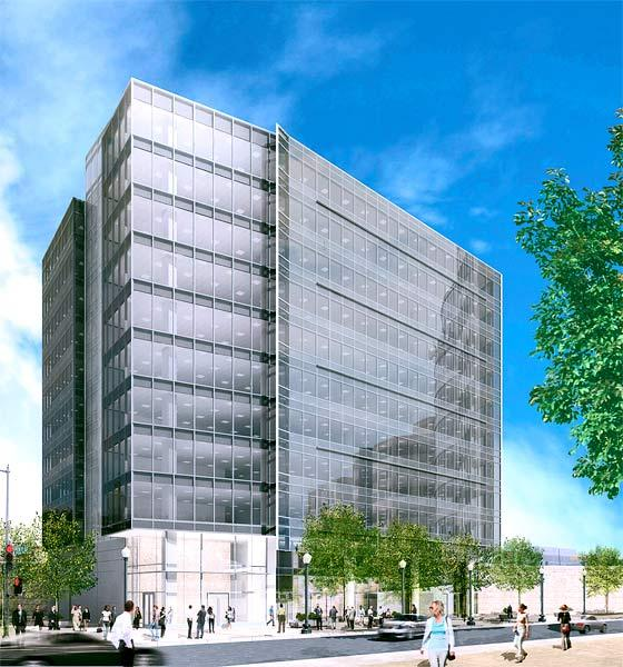 New Boston Fund Inc. has acquired most of J Street Development's 111 K St. NE office condo building in the District's NoMa neighborhood for an undisclosed price.