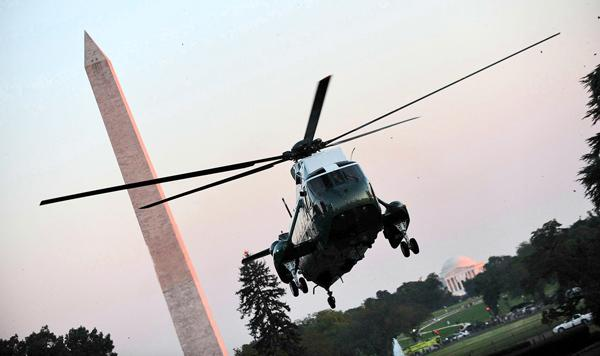 In 2009 the White House canceled plans to create a new fleet of presidential helicopters, but it wants to reintroduce the program next year.