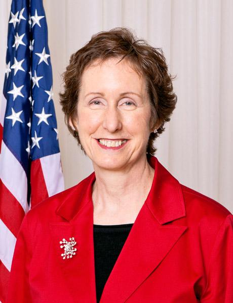 Martha Johnson resigned as head of the General Services Administration on Monday.
