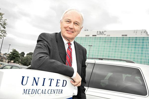 George Chopivsky is simultaneously lobbying to buy UMC and suing it over a contract breach.