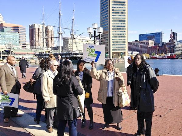 Supporters of Proposition 7 in Maryland pushed hard in Baltimore and around the state to win voter approval to expand gambling in Prince George's County.