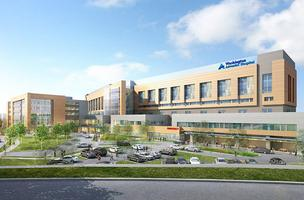 Rendering of the proposed White Oak hospital
