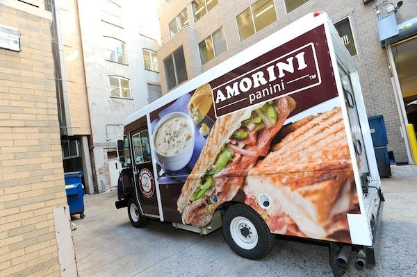 Matt Gray is expanding Amorini Panini, which now includes a Penn Quarter location and food truck, to 18th Street NW.