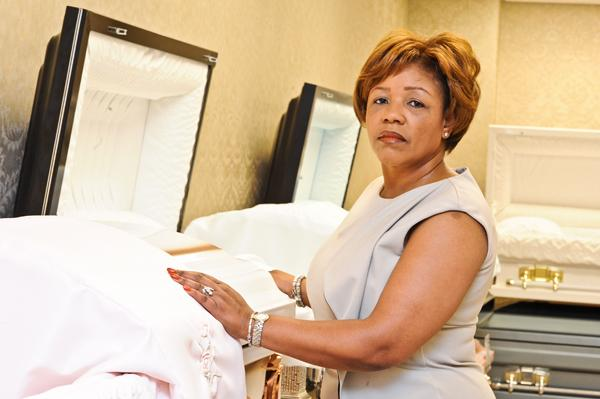 Donna Austin, a licensed mortician and Desert Storm vet, used an SBA loan to start her Greenbelt business, Loss & Found Comfort Resources. But she received a smaller loan than requested, and her business failed last year.