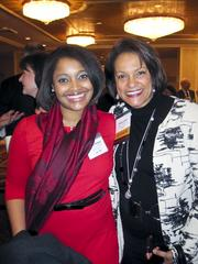 A warm welcome on a cold, cold day The Greater Washington Board of Trade gathered its members Jan. 7 for its 125th annual meeting, held at the Capital Hilton. Pictured here are Janece Kleban of Goodwill of Greater Washington, left, with Debbi Jarvis of Pepco Holdings.