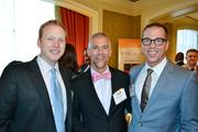 From left, Anthony Shop of Social Driver, Mark Guenther of the Capital Area Gay and Lesbian Chamber of Commerce and Chris Brown of Ackerman Brown.
