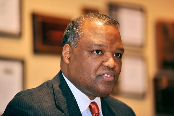 Prince George's County Executive Rushern Baker says he wants to engage more businesses in supporting his economic development fund.