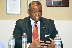 Prince George's County Executive Rushern Baker