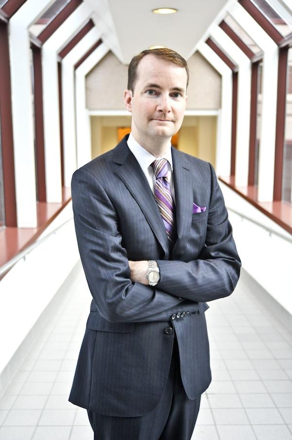 Matt Beardall, JPMorgan Chase's market president for middle-market commercial banking in Maryland, Virginia and D.C.