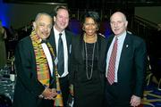 From left, Rod Woodson of Holland & Knight, Chuck Bean of The Council of Governments, and Muriel Bowser and Phil Mendelson, both of the D.C. Council.