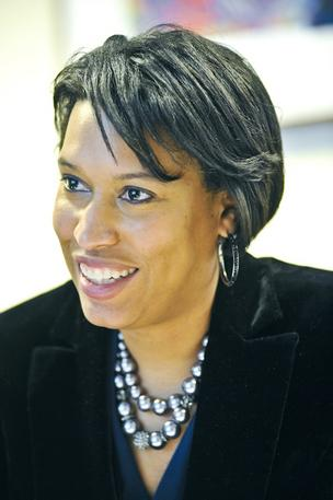 D.C. Councilwoman Muriel Bowser, lead of the scheme utilization committee, saw her organisation budget organisation adoptive unanimously Thursday.