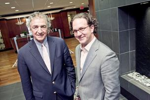 The Bozzuto Group has promoted Toby Bozzuto, right, to president, where he will serve alongside CEO Tom Bozzuto.
