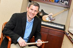 "Bach to Rock President Brian Gross says that leading the chain of music schools, which has developed its own approach to music instruction, has taught him  ""an appreciation of balancing between the musician and the businessperson."""
