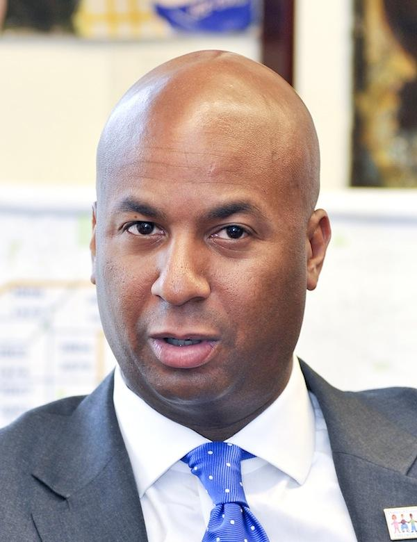 D.C. Councilman Michael Brown was defeated by upstart candidate David Grosso.