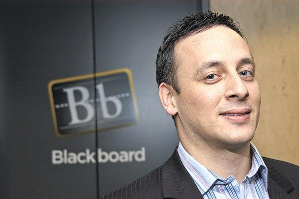 Blackboard CEO Michael Chasen stayed with the company after Providence Equity Partners bought it last year for $1.64 billion.