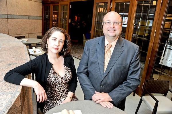 City Club of Washington officials Heather Zahn and James Douthat hope a $3 million renovation that makes the club look less stodgy and old school will help attract at least 500 new members in the next several years.
