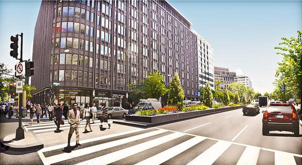 A business group is working on a plan to turn an area anchored by Connecticut Avenue into one of the country's premier shopping districts.