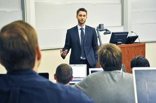 Georgetown professor Matt Cypher created a program that lets MBA students in real estate finance practice their skills in the real world.