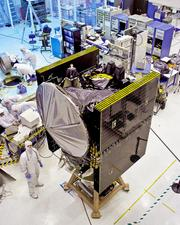 Orbital Sciences' Dawn interplanetary spacecraft, which recently orbited the asteroid Vesta, was built at the company's 65-acre campus in Dulles.