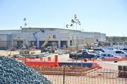 The Costco at the Shops at Dakota Crossing is scheduled to open in November. Two other major anchors are also planned.