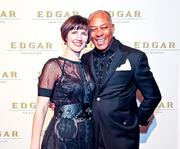 Say hello to Edgar The new Edgar Bar & Kitchen at the Mayflower made its glitzy debut with a power-packed cocktail party March 7. Perhaps it was the release from the No-quester snow bust the day prior, but the energized crowd was ready to celebrate and mingle.Jennifer Nigard and Louis Everard, owners (and spouses) of Everard's Clothing in Georgetown.