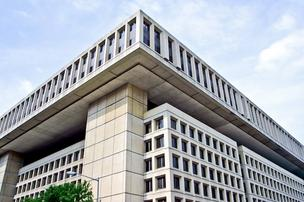 The FBI's J. Edgar Hoover Building is one of D.C.'s most architecturally repugnant buildings. The site could be redeveloped if the FBI moves, as suggested by the GAO.