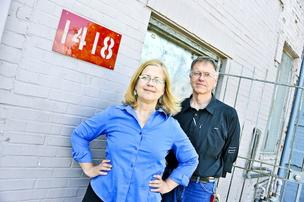 Phyllis Klein and her husband, Alex Mayer, are starting a digital fabricator nonprofit in the Northwest D.C. building they have owned since the 1980s.