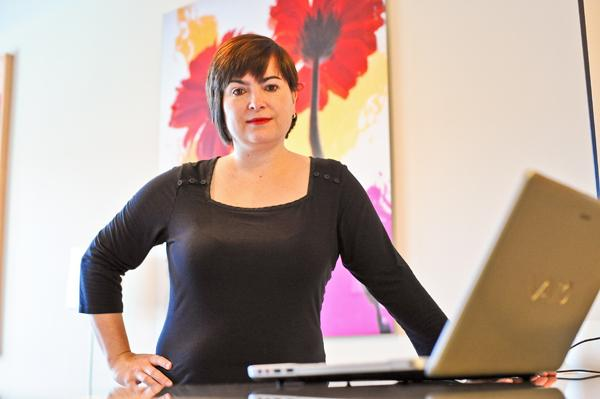 Catriona Fraser closed her art gallery in Bethesda but now has a major online presence as part of ArtNet, which attracts customers from as far away as South Korea and Germany.